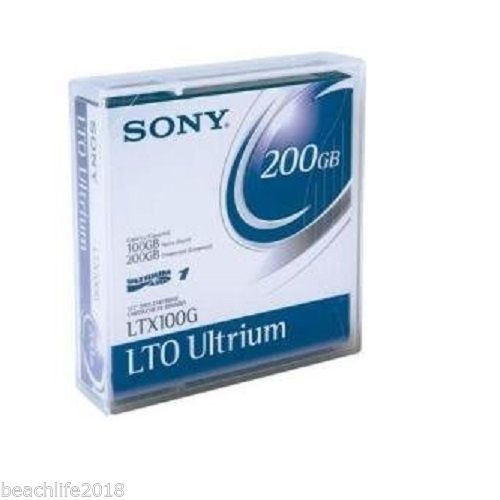 Sony 200GB Ultrium Data Cartridge LTX100G NEW
