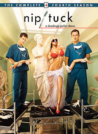 Nip/Tuck - The Complete Fourth Season (DVD, 2007, 5-Disc Set)