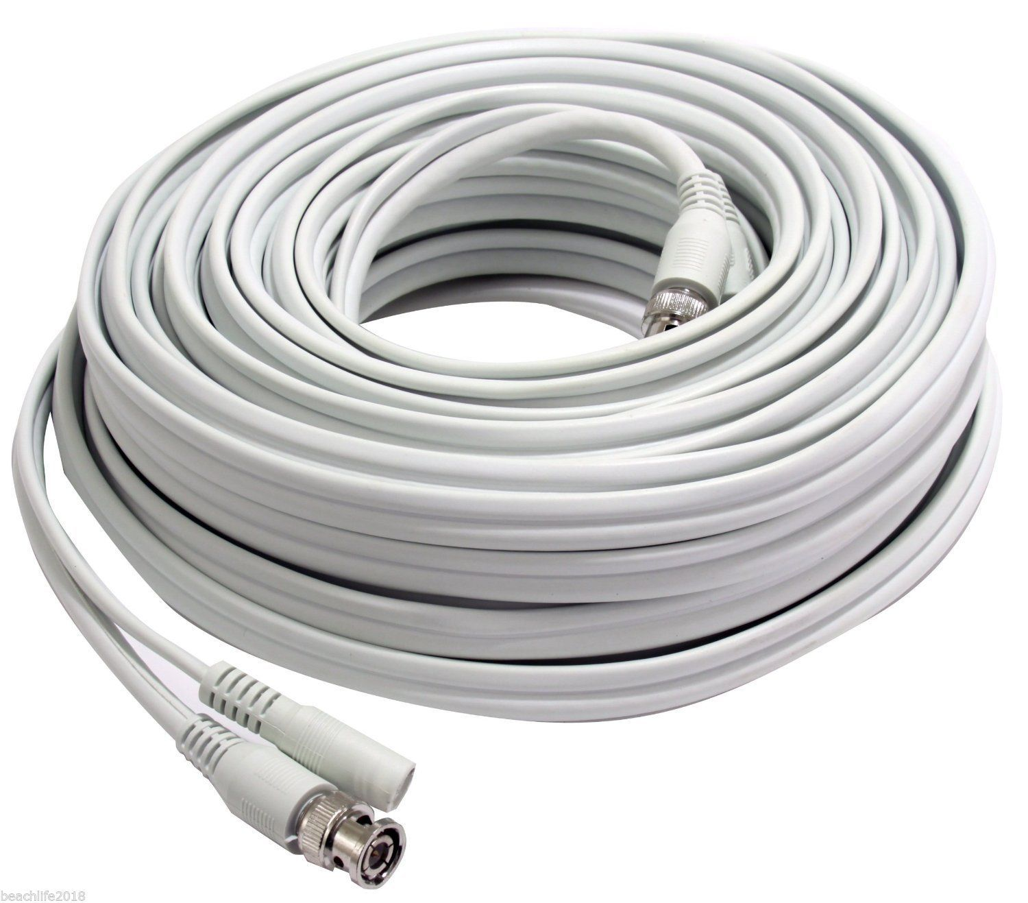 First Alert BNC cable 50-Feet NEW Indoor/Outdoor Use