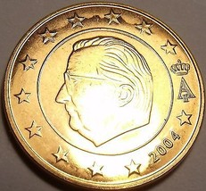 Gem Unc Belgium 2004 5 Euro Cents~Minted In Brussels~Free Ship - $3.49