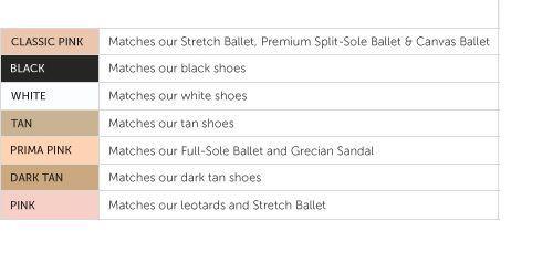 Adult Dance Tights Revolution Spandex Color-Flow Convertible