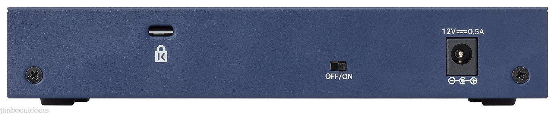 NETGEAR ProSAFE FS108 8-Port Fast Ethernet Desktop Switch NEW in Box