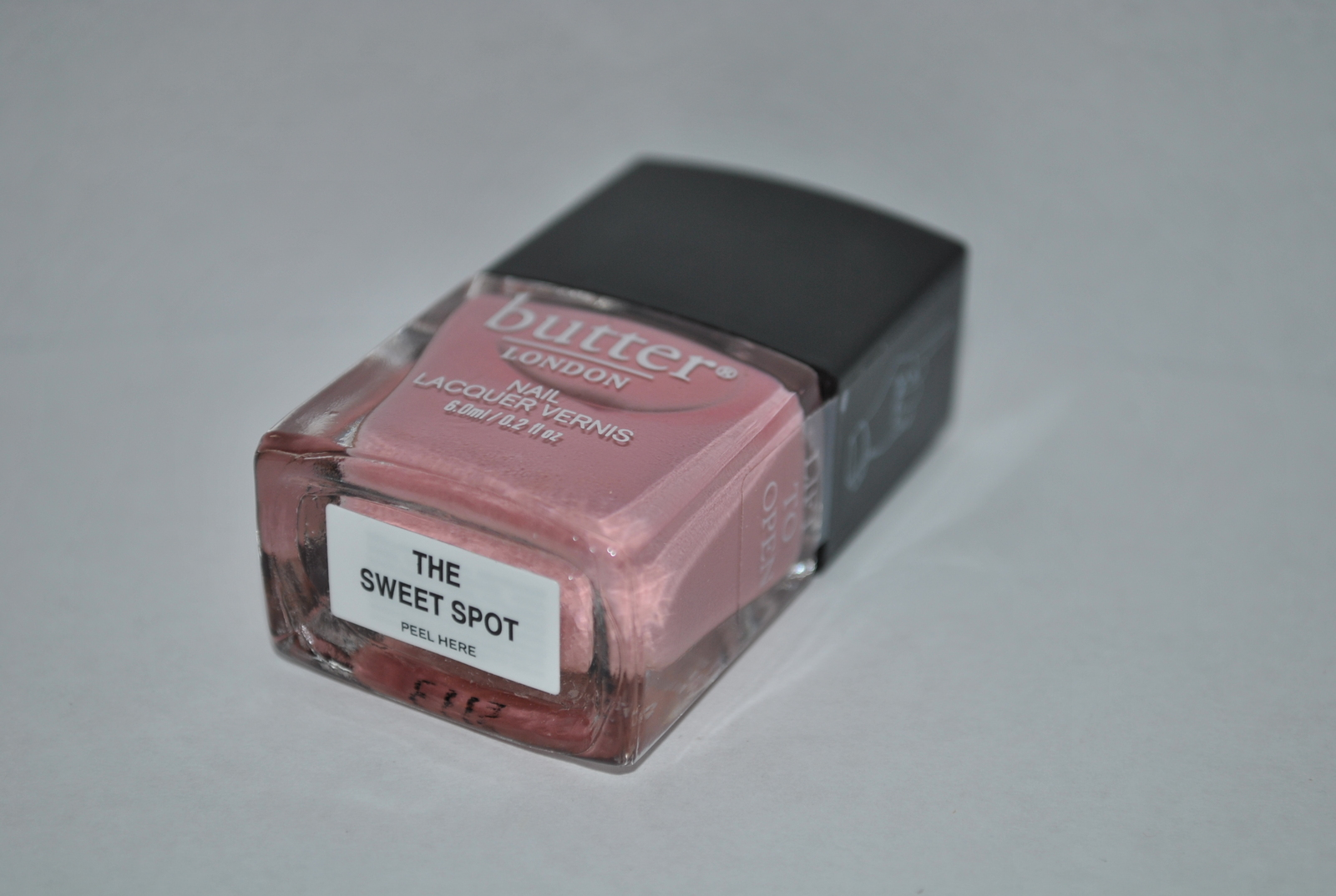 Butter London Nail Lacquer - The Sweet Spot 0.2 Fl oz / 6 ml