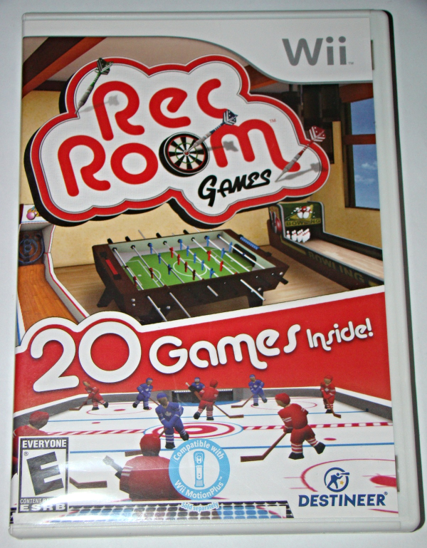 Nintendo Wii - Rec Room Games - 20 Games inside! (Complete with Instructions)
