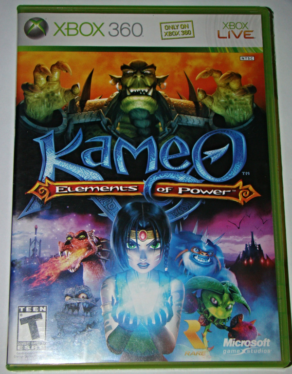 """XBOX 360 - """"ONLYON XBOX"""" Kameo Elements of Power (Complete with Instructions)"""