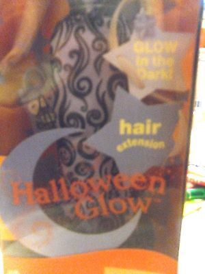 HALLOWEEN  BARBIE SPECIAL EDITION GLOW IN DARK HAIR EXTENSION 2002 MINT IN BOX