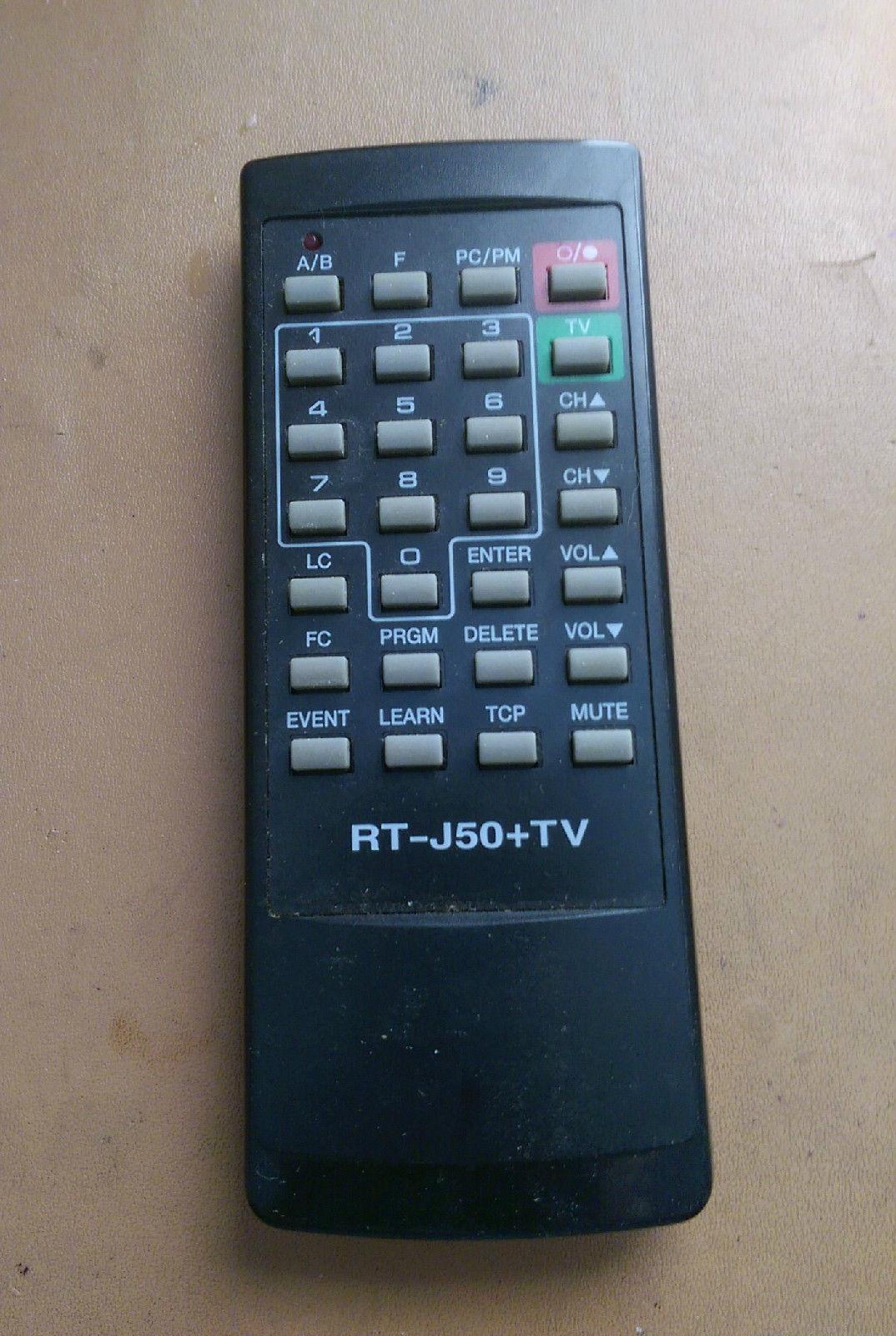 Remote Control Model RT J50