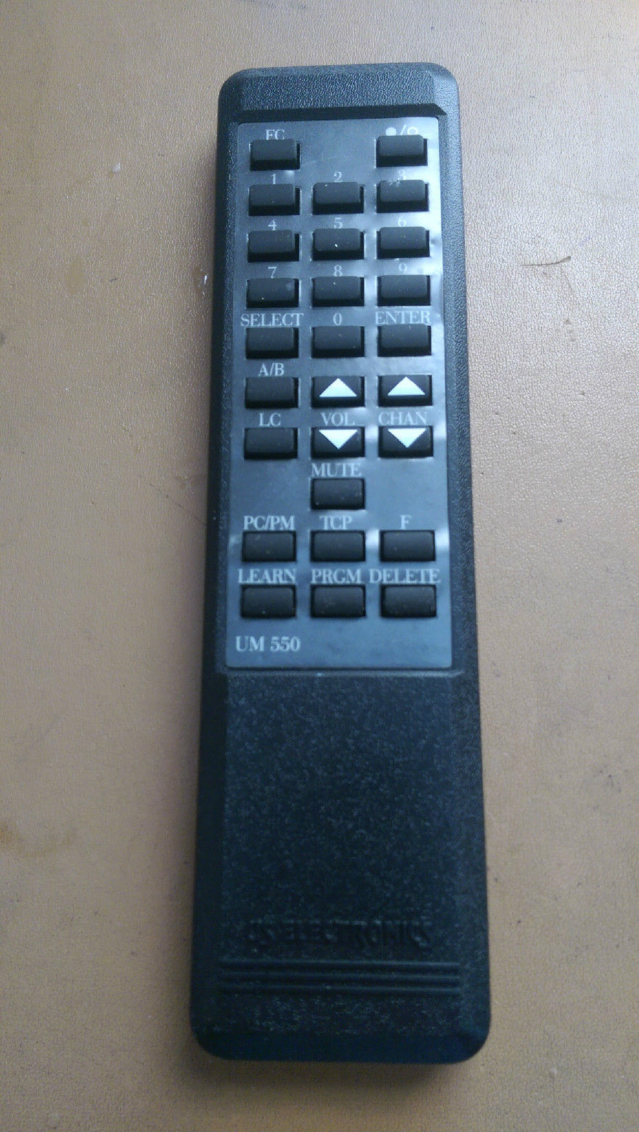 Remote Control Model UM 550  US Electronics