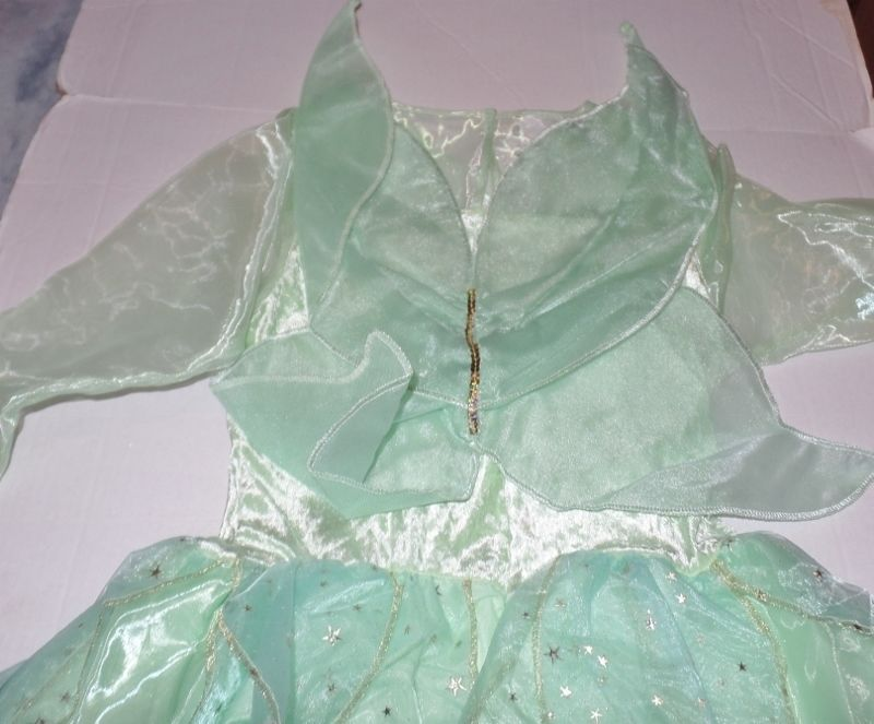 Disney Store Tinker Bell Adult Womens Costume SZ Med NEW Wings Pixie Fairy