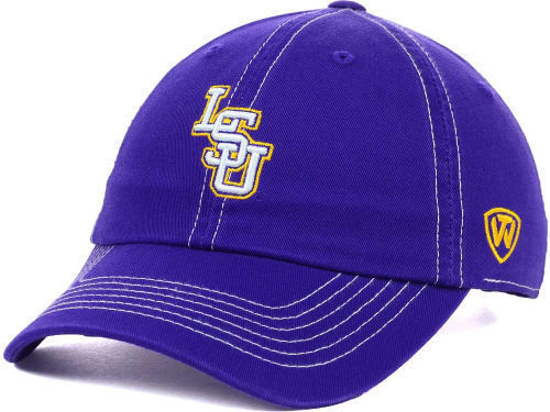 """LSU Tigers NCAA TOW """"Stitches"""" Adjustable Hat New"""