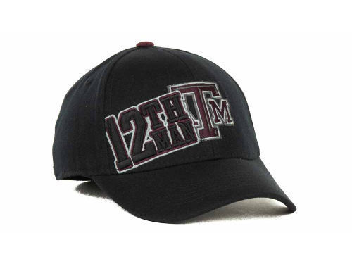 """Texas A&M Aggies NCAA TOW """"Clutch"""" Stretch Fitted Hat New"""