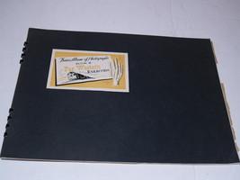 Trains Album of Photographs Book - II -Far Western Railroads - 1943 - $19.59