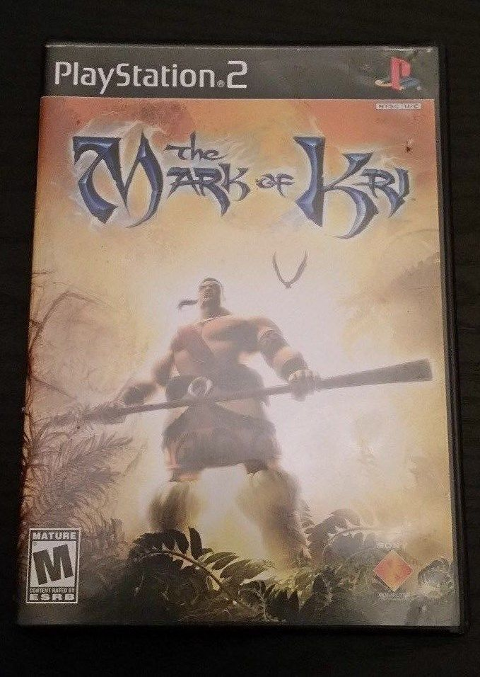 Mark Of Kri PS2 Playstation 2 Game Complete