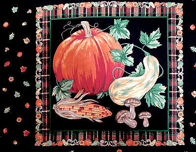 HalloweenFabric Panels Set Of Two Pillow and Trick Or Treat Bag