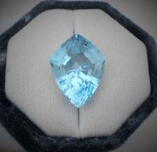 Swiss Blue Topaz Fancy Pear  gem 23 x 18mm - $26.99
