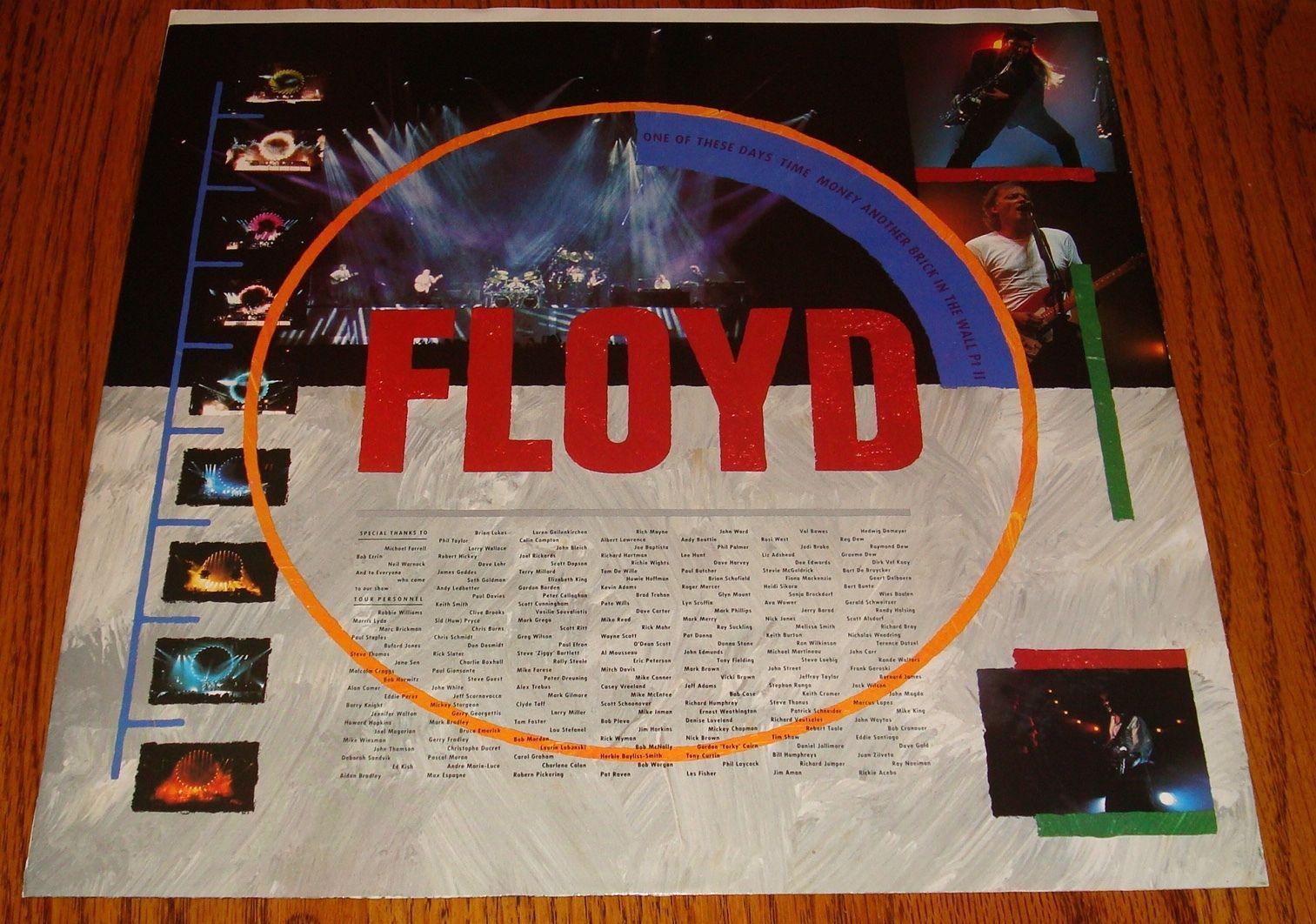 PINK FLOYD DELICATE SOUND OF THUNDER LIVE ORIGINAL DOUBLE LP STILL IN SHRINK