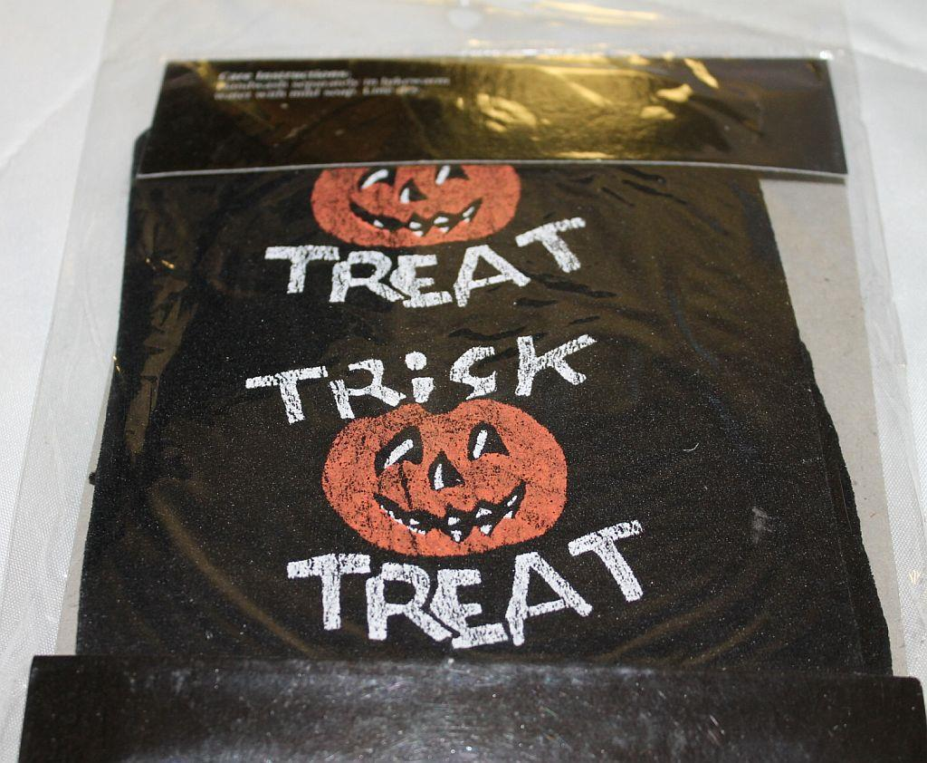 Stagelights  Halloween Pantyhose *TRICK OR TREAT*  design  (One Size)