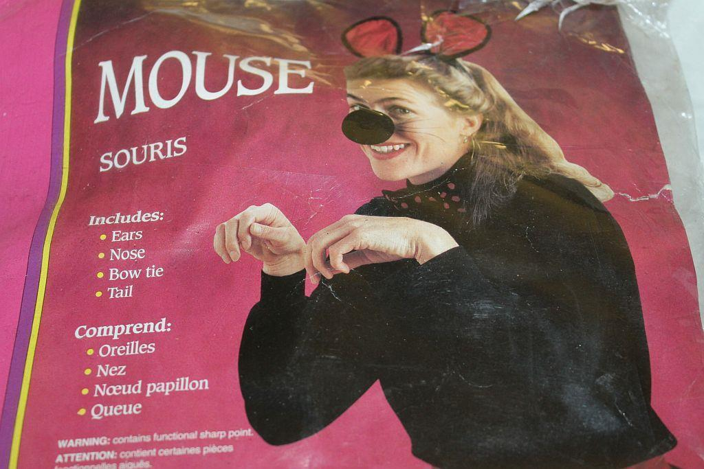 Devise-a-Disguise  Halloween  *CUTE MOUSE COSTUME  KIT*  NIP