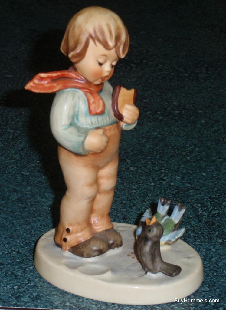 """Bird Watcher"" Goebel Hummel Figurine #300 TMK5 From 1979 - MAKES A GREAT GIFT!"