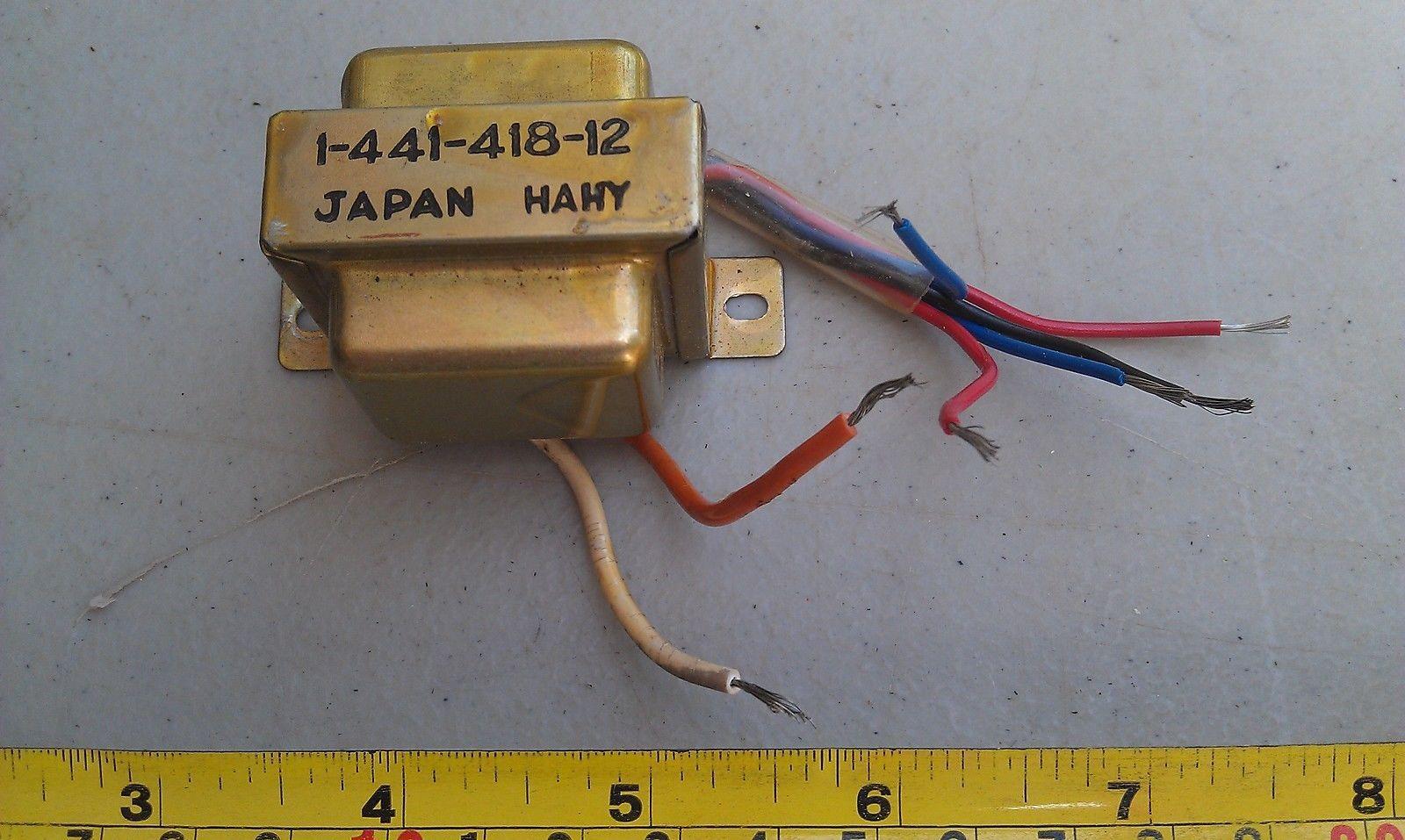 5LL81 POWER SUPPLY, SONY 1-441-418-12: 120VAC --> (5.6 B-B, 11.2 R-R W/ BLK C