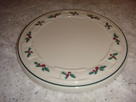 Longaberger Traditional Holly Trivet Plate - $12.99