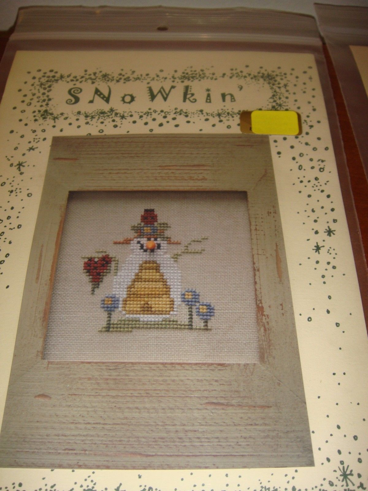 Sisters & Best Friends Cross Stitch Uncle Salty & Aunt Mimi Patterns With Button image 5