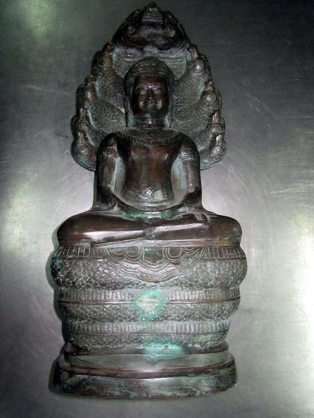 LAST LEFT! Ancient Holy So Big Nak-Prok Powerful Protective Thai Buddha Amulets