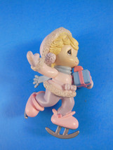 Precious Moments Christmas ornament Ice Skate Girl - $5.53
