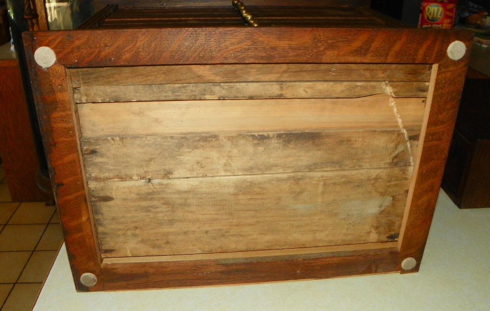 Solid Quartersawn Oak Drawer File Cabinet  (DR61)