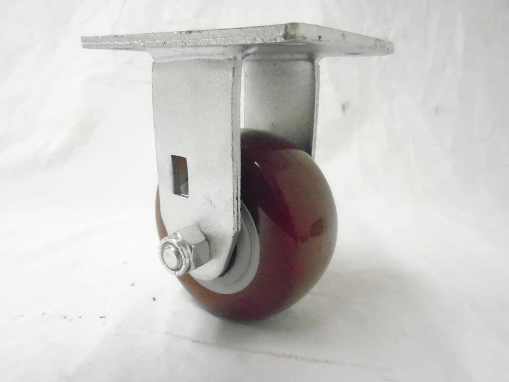 """4"""" x 2"""" Rigid Caster Polyurethane Wheel 500 lbs Tool Box"""