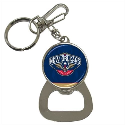 New Orleans Pelicans Bottle Opener Keychain - NBA Basketball