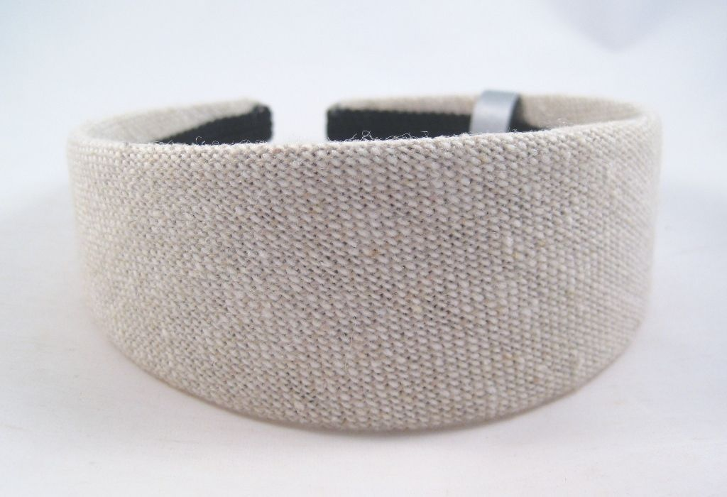 New Textured Wide Tan Colored Headband NWT From Target #H2023