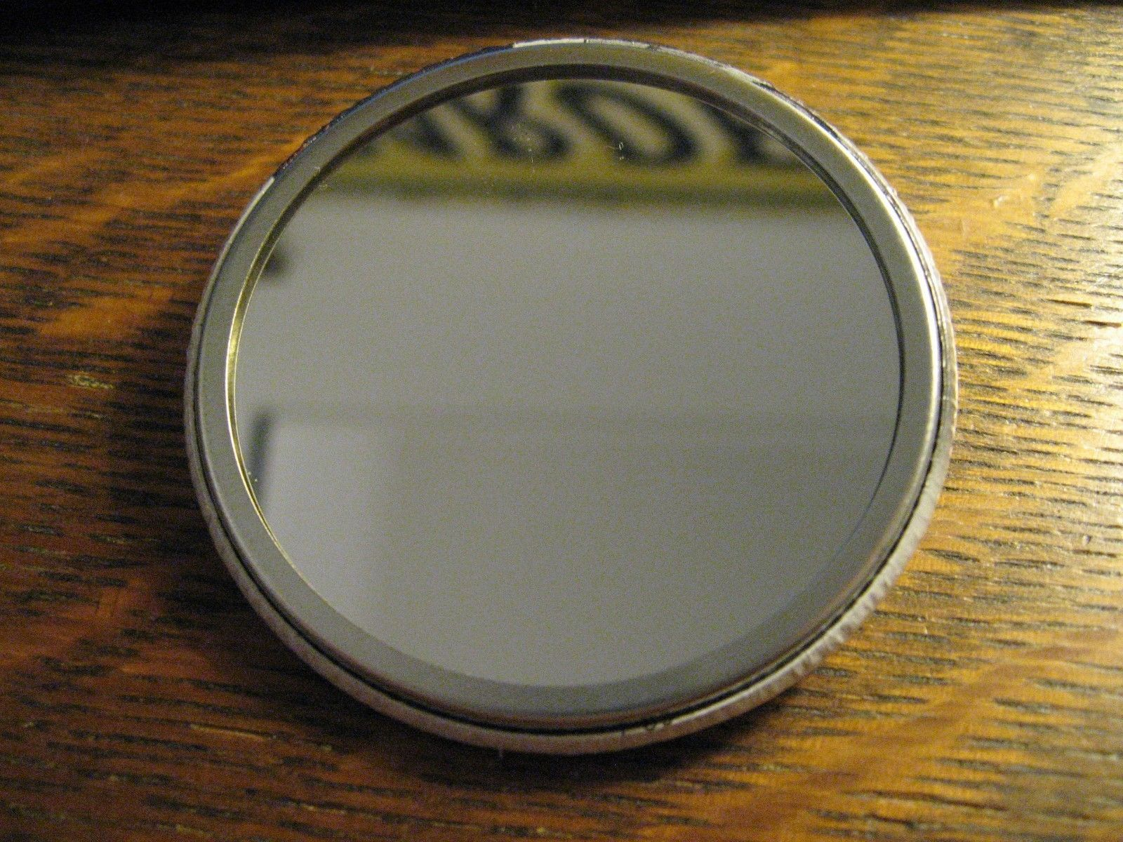 IWC Schaffhausen Pocket Mirror - Repurposed Watch Advertisement Lipstick Mirror