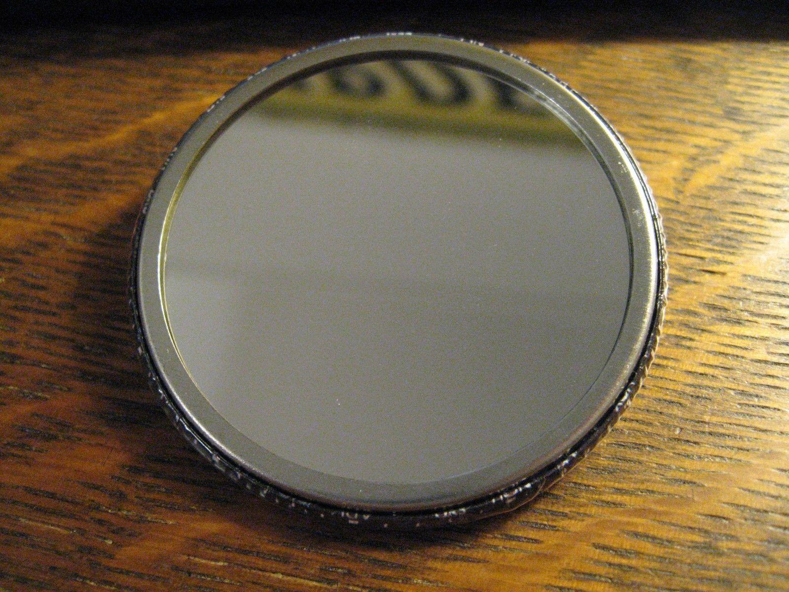 Citizen Eco Drive Pocket Mirror - Repurposed Watch Advertisement Lipstick Mirror