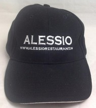 Alessio Restaurant Trucker Hat/Cap, Black/White, Slide Adjustable - $15.99