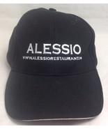 Alessio Restaurant Trucker Hat/Cap, Black/White, Slide Adjustable - $15.99