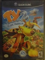 TY THE TASMANIAN TIGER 2: BUSH RESCUE (Nintendo GameCube 2004 COMPLETE F... - $11.87