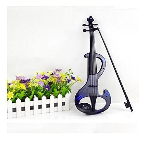E Support Violin Earlier Childhood Music Instrument Toy for Children blue