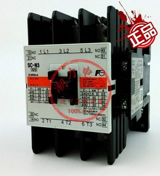 Original Fuji AC contactor SC-N3 110V 220V 380V 2 month warranty
