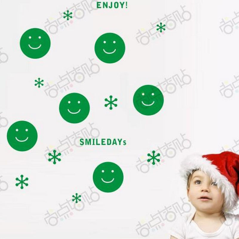 NEW Christmas Decals Wall Sticker Window Shop Mural Removable Gift Sales 240TN0