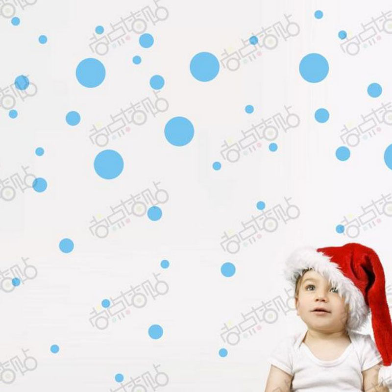 3PCS Christmas Decals Wall Sticker Window Shop Mural Removable Gift Sales 249TW1