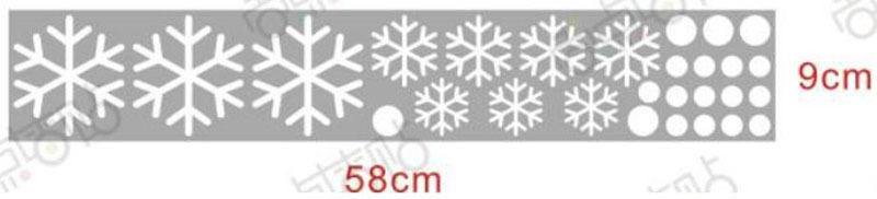 5PCS Christmas Decals Wall Sticker Window Shop Mural Removable Gift Sales 242TP8