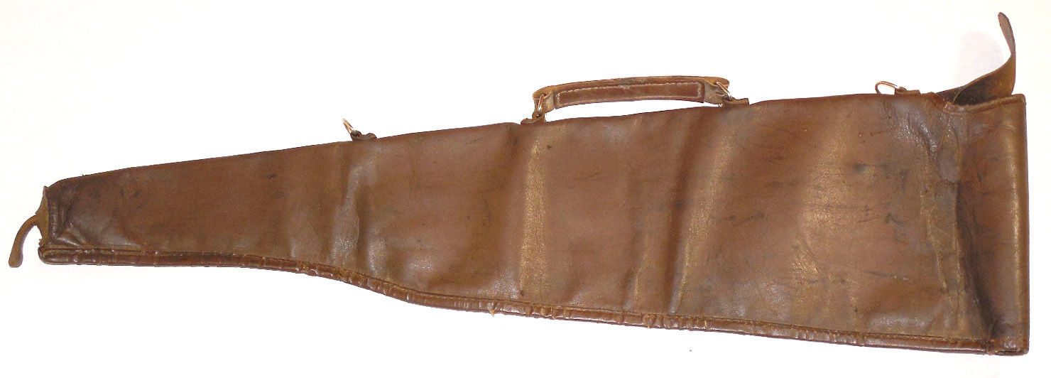 Soviet Russian Genuine Leather Gun Cover Case Slip For Rifle Holster USSR