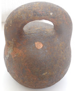Antique Genuine Imperial Russian Cast Iron Scale Weight 10 Pounds 4 kg 1... - $9.90