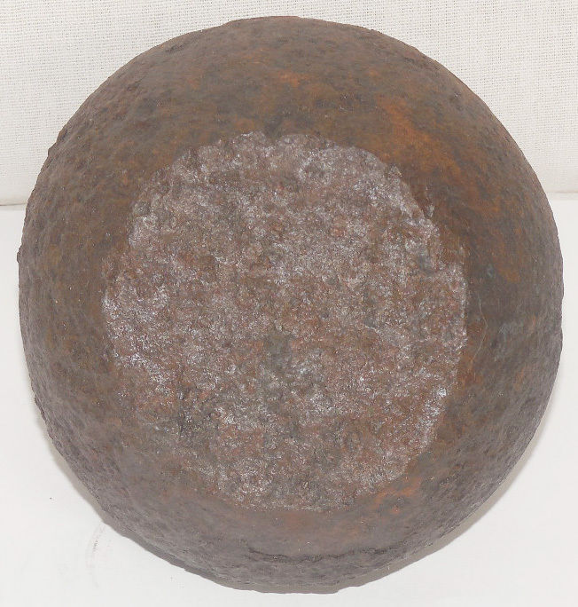 Antique Genuine Imperial Russian Cast Iron Scale Weight 10 Pounds / 4 kg 125 g