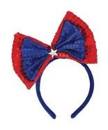 Patriotic Bow Headband Cosplay Theatre Drag - $13.86