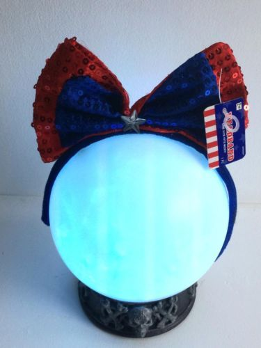 Patriotic Bow Headband Cosplay Theatre Drag