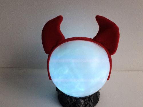 Satan Devil Beezelbub Red Velvet headband