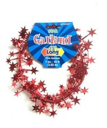 Amscan Red Star Wire Garland 12' - $6.59