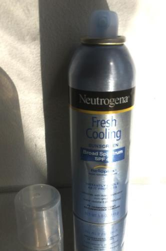 Neutrogena Fresh Cooling Body Mist Sunblock SPF 45, 5 Ounce